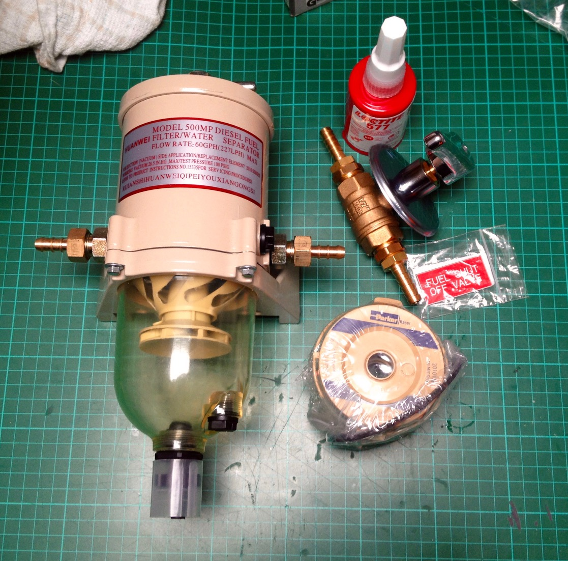 Facor Fuel Filter Recommendation Fake Racor 500fg You Can Read My Article About The Whole System Replacement On Bavaria Forums