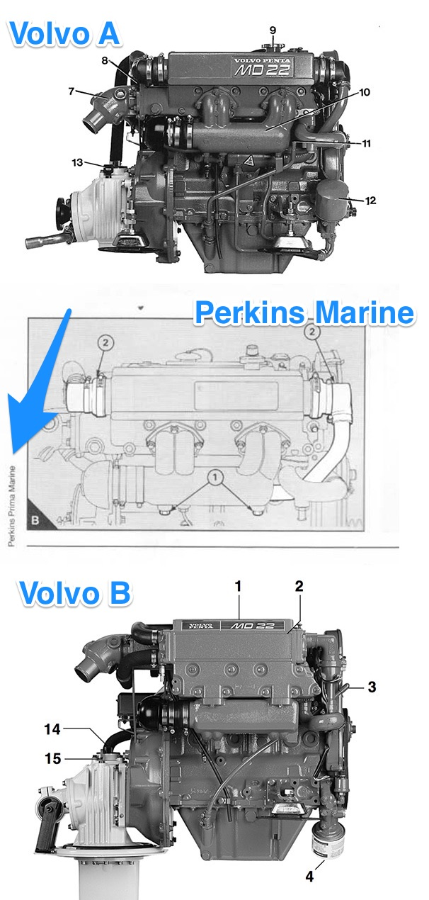 perkins m50 vp md22l a heat exchanger end cover part number rh ybw com Perkins Series 500 Diagram of a Perkins Brailler